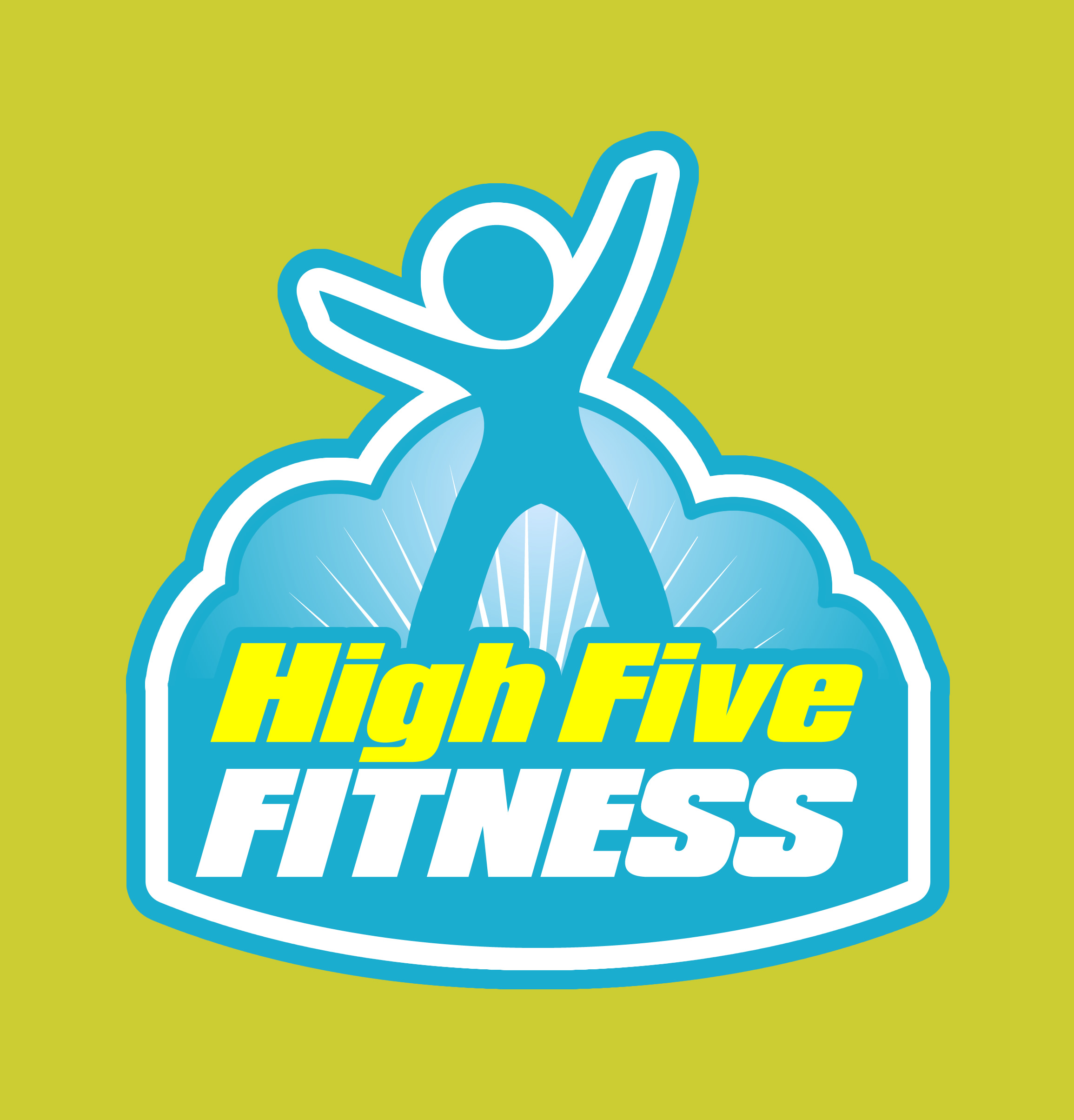 HighFiveFitnessLOGO with background1