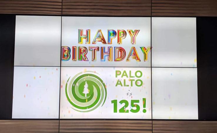 Palo Alto's 125th Birthday